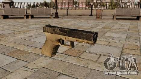 Glock pistola autocargable para GTA 4