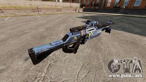 Rifle de francotirador de Mass Effect para GTA 4 segundos de pantalla