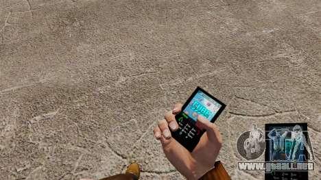 Tema de cubo para tu teléfono para GTA 4