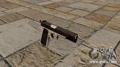 Pistola semiautomática Taurus PT1911 para GTA 4