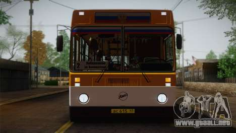 LIAZ 5256.00 para vista inferior GTA San Andreas