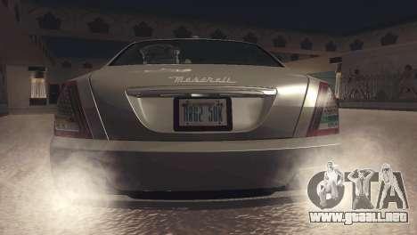 Maserati Quattroporte 2012 para la visión correcta GTA San Andreas