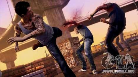 Arranque pantalla Sleeping Dogs para GTA 4 séptima pantalla