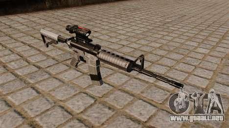 Automático carabina M4A1 espiado para GTA 4