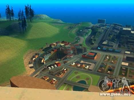 ENBSeries with View Distance para GTA San Andreas segunda pantalla