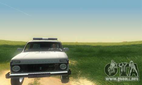 Lada Niva Patrola para GTA San Andreas left