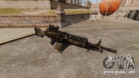 Ametralladora ligera de FN Mk 46 para GTA 4
