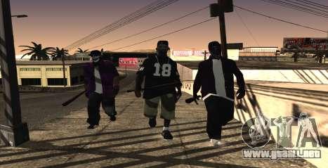 HQ SkinPack Ballas para GTA San Andreas