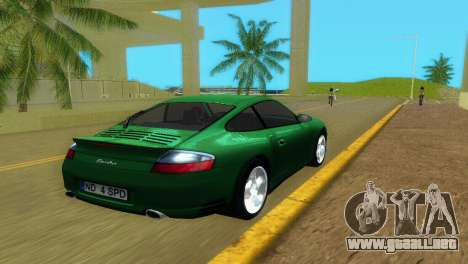 Porsche 911 Turbo para GTA Vice City vista lateral izquierdo