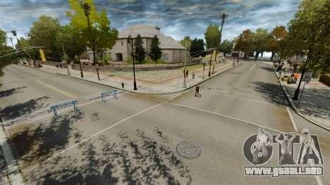 Pista de Supermoto para GTA 4 tercera pantalla