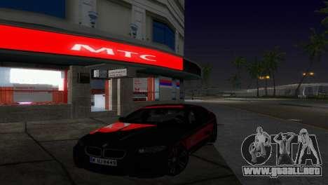 Tienda mts para GTA Vice City segunda pantalla