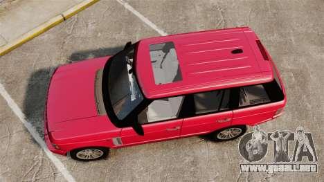 Range Rover TDV8 Vogue para GTA 4 visión correcta