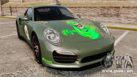 Porsche 911 Turbo 2014 [EPM] Ghosts para GTA 4