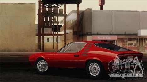 Alfa Romeo Montreal (105) 1970 para visión interna GTA San Andreas