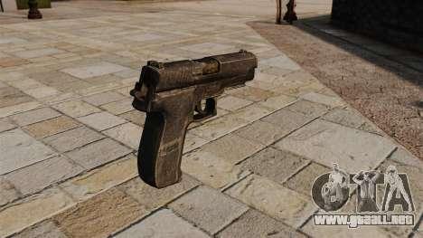 Pistola SIG-Sauer P226 para GTA 4 segundos de pantalla