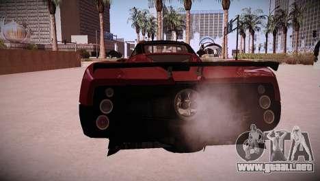 Pagani Zonda para la visión correcta GTA San Andreas