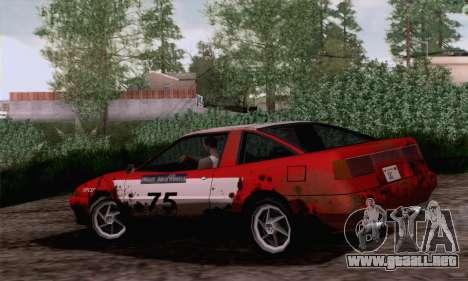 Uranus Rally Edition para GTA San Andreas left