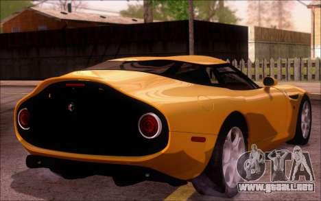 Alfa Romeo TZ3 2011 para GTA San Andreas left
