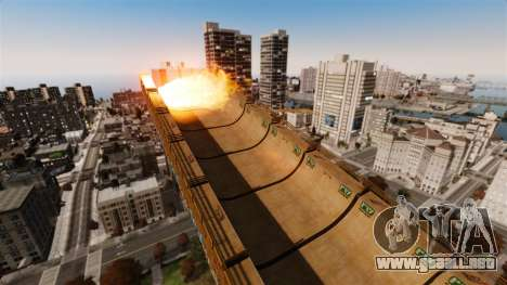 Algonquin Stunt Ramp para GTA 4 sexto de pantalla