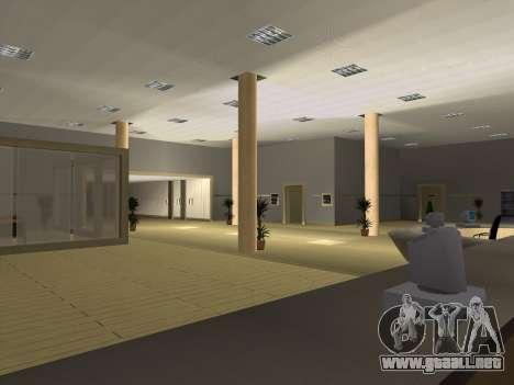 Nuevas texturas Interior Ayuntamiento para GTA San Andreas quinta pantalla