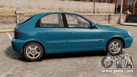 Daewoo Lanos PL 2001 para GTA 4 left