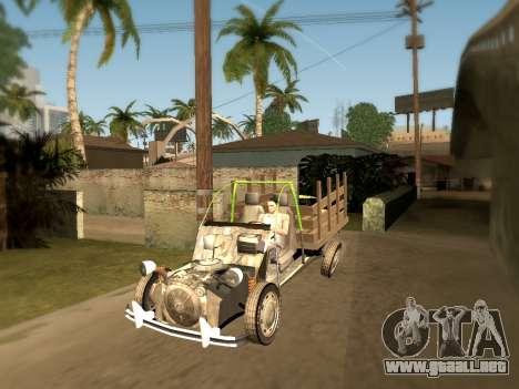 Citroen 2CV (Diana) para GTA San Andreas left