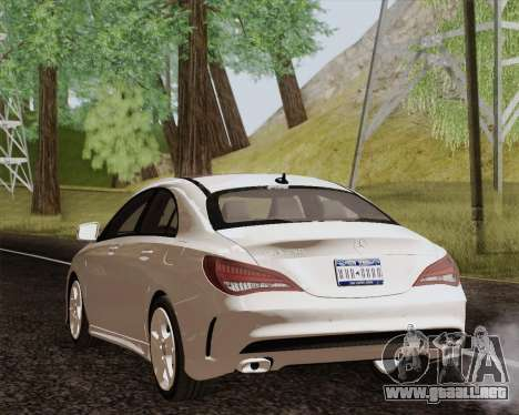 Mercedes-Benz CLA 250 2013 para GTA San Andreas left