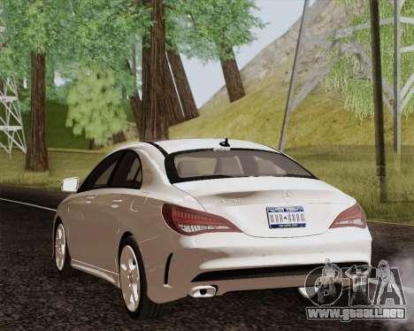 Mercedes-Benz CLA 250 2013 para GTA San Andreas left
