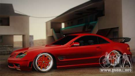 Mercedes-Benz SL65 AMG Racing Edition para GTA San Andreas