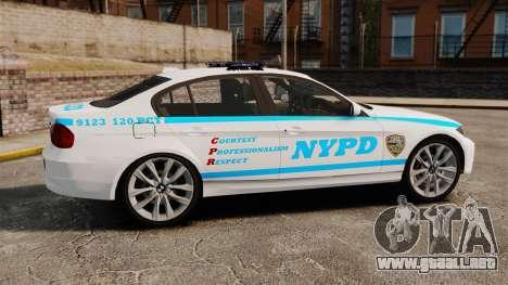 BMW 350i NYPD [ELS] para GTA 4 left