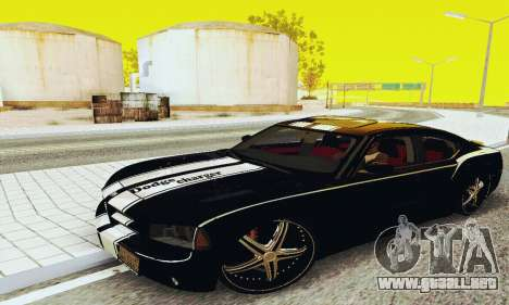 Dodge Charger DUB para GTA San Andreas left