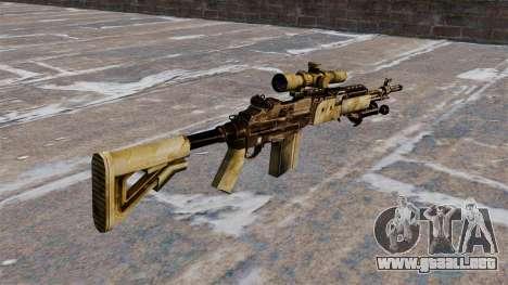 Rifle de francotirador M21 Mk14 para GTA 4 segundos de pantalla