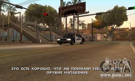Crack gastado (FARGUS) para GTA San Andreas