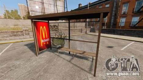 Nuevos carteles en las paradas de autobús para GTA 4 tercera pantalla