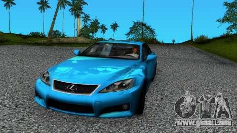 Lexus IS-F para GTA Vice City