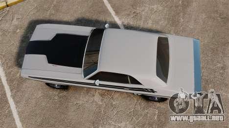 Dodge Challenger 1971 v1 para GTA 4 visión correcta