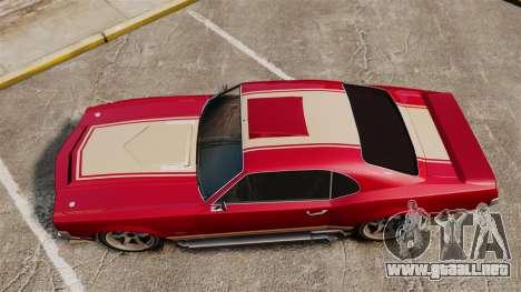 Sabre RS para GTA 4 visión correcta