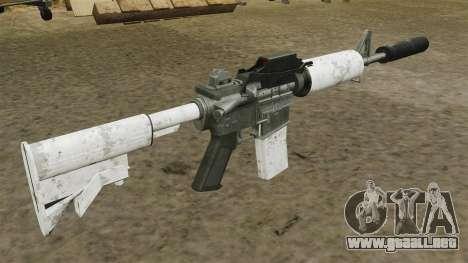 Automático carabina M4 actualizado para GTA 4 segundos de pantalla