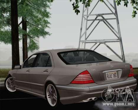 Mercedes-Benz AMG S65 2004 para GTA San Andreas left