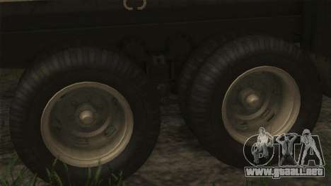 AM General M35A2 1950 para GTA San Andreas