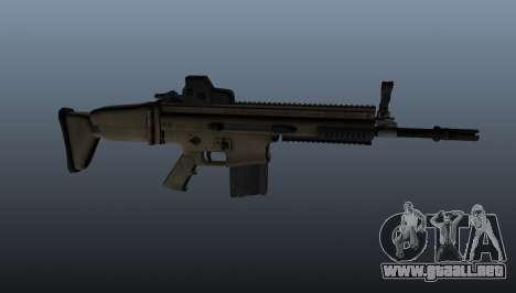 Fusil automático FN SCAR-H para GTA 4 tercera pantalla