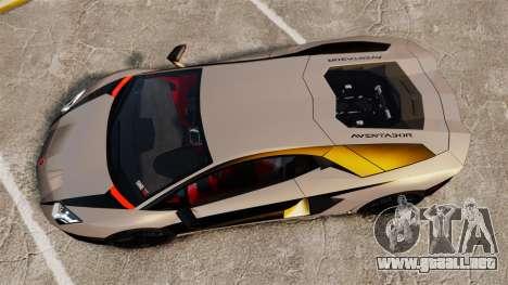 Lamborghini Aventador LP700-4 2012 v2.0 [EPM] para GTA 4 visión correcta