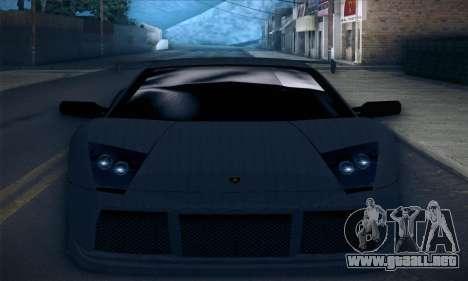 Lamborghini Murcielago GT Carbone para el motor de GTA San Andreas
