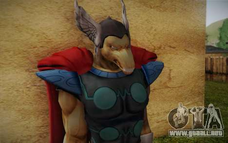 Beta Ray Bill para GTA San Andreas tercera pantalla