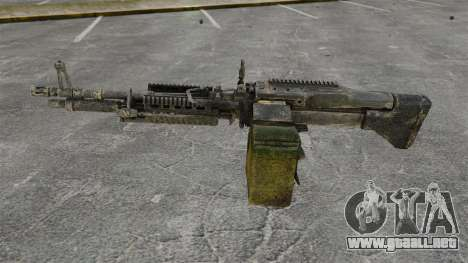 Ametralladora de propósito general M60E4 para GTA 4 tercera pantalla