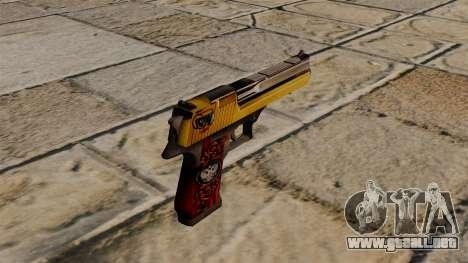 Desert Eagle pistola especial para GTA 4 segundos de pantalla