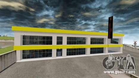 Salón del automóvil de Lamborghini para GTA 4