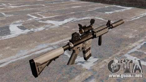 Carabina M4 automático para GTA 4 segundos de pantalla