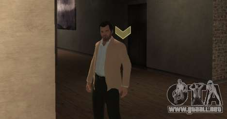 Michael De Santa from GTA V para GTA 4 tercera pantalla