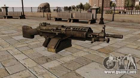 La ametralladora M249 ligera para GTA 4